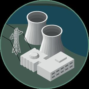 Energy Sources – Isometric Icon Set | József Balázs-Hegedűs