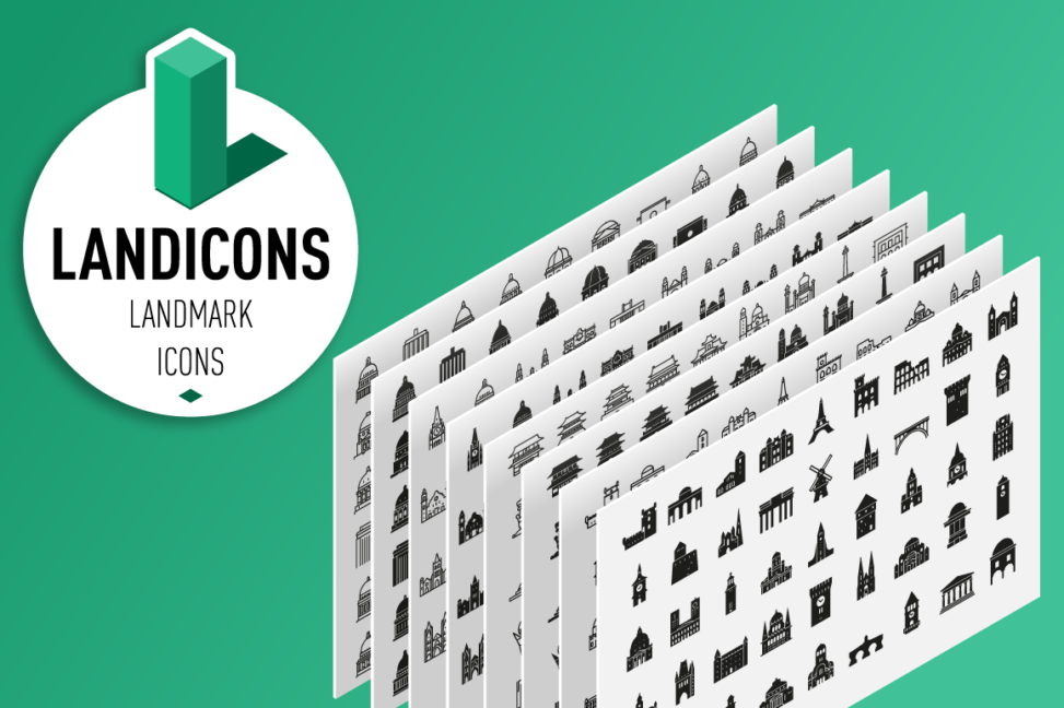 Landicons.com - Landmark Icon Sets