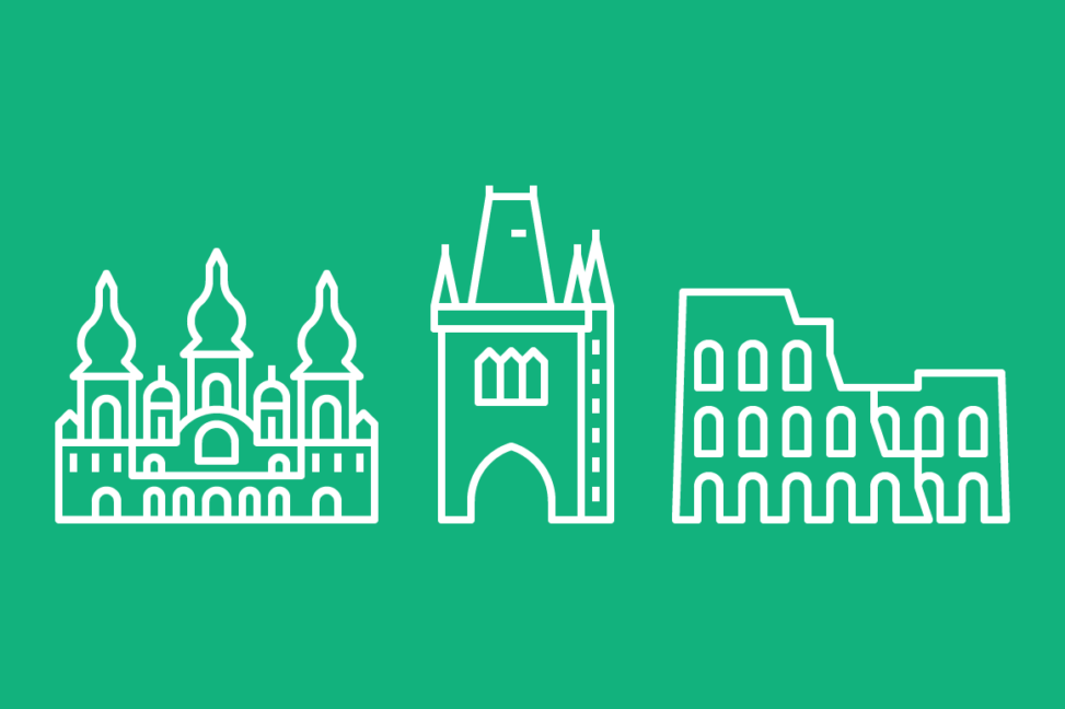 Capital Landmarks - Line Icons