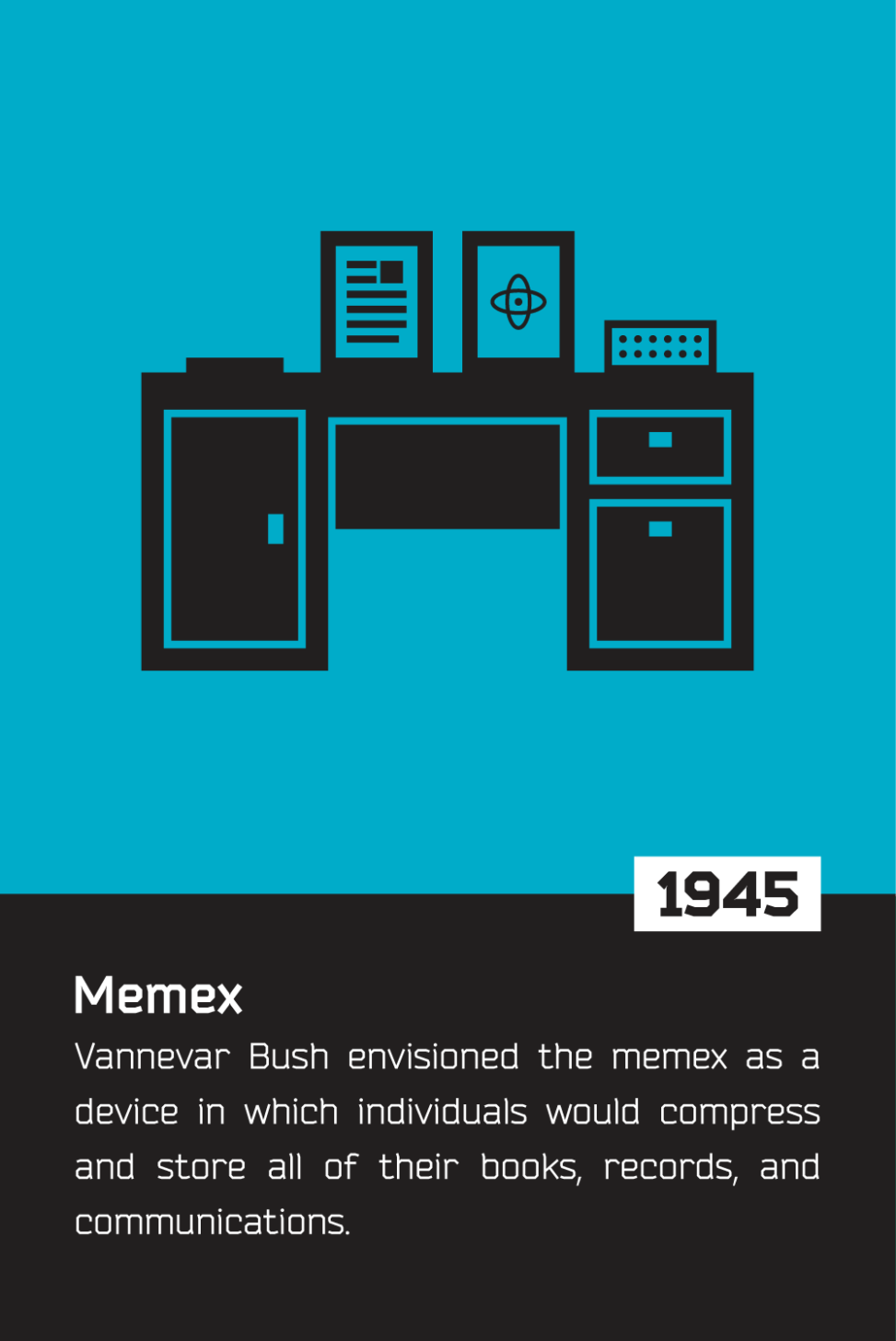 The history of the internet - memex
