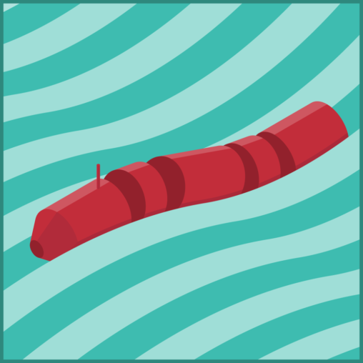 wave power generator illustration