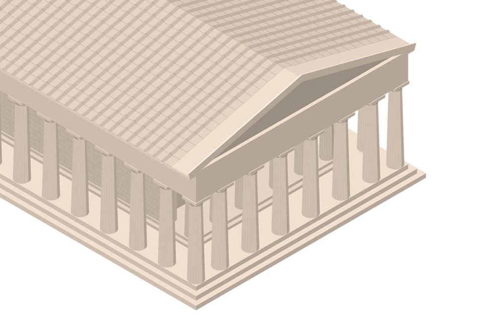 Parthenon - Close Up